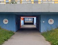Podchod / Underpass corridor
