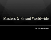 Masters & Savant Website