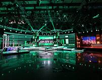 TV Set Design. НТВ. Центральное телевидение