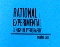 Rational Vs Experimental design in typography