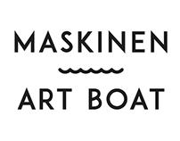 Maskinen Art Boat