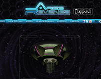 Ares Revenge | App Interactive Website
