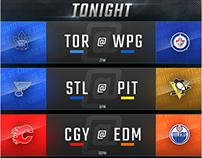NHL opening night Schedule