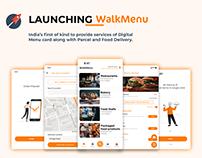 Mobile App Launching Poster - Food app