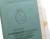 """LIBRO OBJETO: """"Búsqueda Nacional de Identidad"""""""