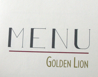 Golden Lion Menu