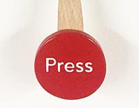 Press Wall Drawing Machine