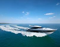 Princess Yachts CGI S72