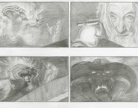 Lord of the Rings Storyboard