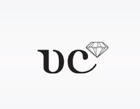 vc.q.faz visual identity