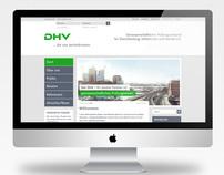 DHV – Webdesign