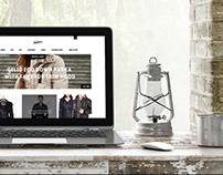 Design online store boutique Nadine