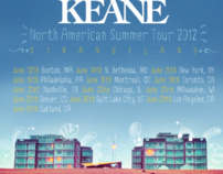 Keane - North American Summer Tour (contest entry)