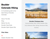 Website: Boulder Colorado Hiking