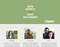 Halvorsen Wedding Website