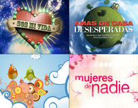 Canal 13 Artear © 1996 - 2008 Opening Titles & Promos