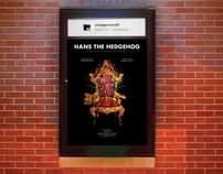 """Hans the Hedgehog"" Theatre Poster"