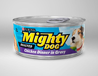 Purina Mighty Dog Microsite