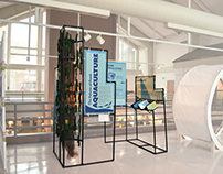 Exhibit Design: Aquaculture