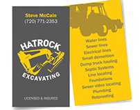 Logo refresh and website design for hatrock excavating on behance colourmoves