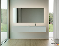 A antik minimalist bathroom