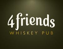 4friends Whiskey Pub Corporate Identity
