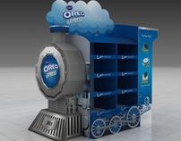 Oreo Train Display