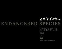 Catalog for World Wildlife Fund - Endangered Species