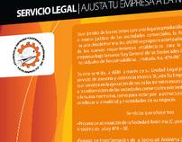 Flyer | Ajusta tu empresa a la nueva ley (A.E.I.H.)