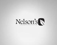 Logo Design: Nelson's Landscaping