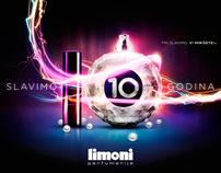 Limoni Perfumeries 10th Anniversary