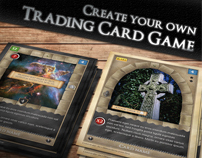 TCG - Fantasy Trading Card Game Kit in Medieval