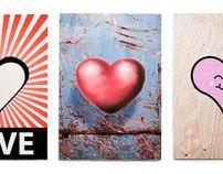 Graffiti Valentine's Day Cards