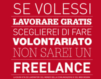 Poster Design - Freelance Volontariato