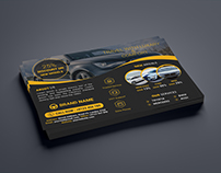 Car Service Flyer Template