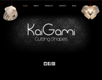 Web design - Kaigami