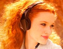 headphones website and video - vektr by monster
