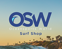 Oceansports World Rebrand | Website Development