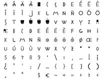Ethnic ABC Font
