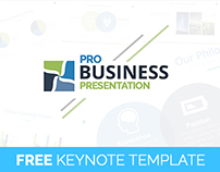 FREE ProBusiness Keynote Presentation Template