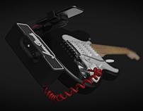 JamStack - Attachable Guitar Amplifier & BT Speaker