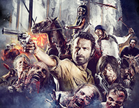 FAN ART THE WALKING DEAD