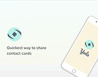 Yola app UI screens