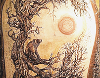 Pyrography of Nature
