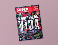 Capa Paper Art: A origem da vida   Superinteressante