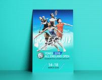 Poster Design Yonex badminton