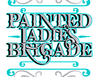 Painted Ladies Brigade logo