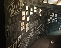 Reagin Orthodontics Chalk Wall