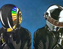 Daft Punk Painting