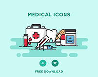 FREE - MEDICAL ICONS